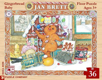 Gingerbread Friends - 36 Piece Floor Puzzle 36 piece Floor Puzzle