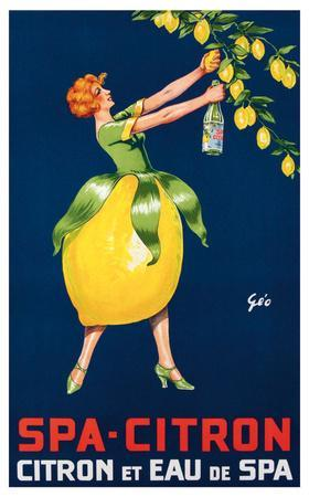 Spa-Citron,Citron et Eau de Spa, ca. 192