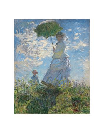Woman with a Parasol, 1875