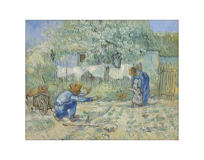 First Steps - After Millet, 1890