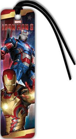 Iron Man 3 Beaded Bookmark