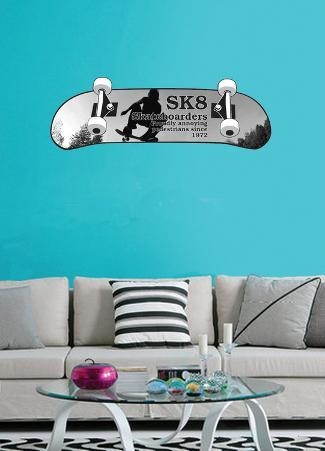 Skateboarding Proudly Annoying Wall Decal Sticker
