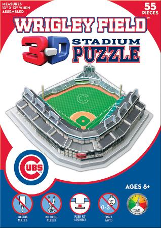 Chicago Cubs - Wrigley Field 3-D Puzzle