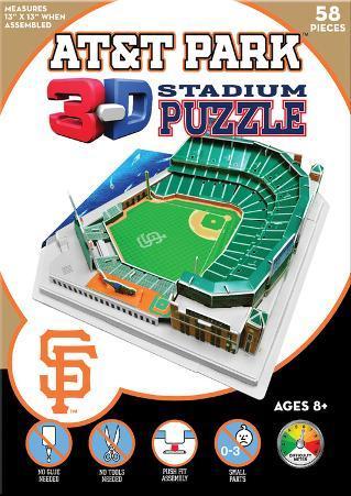 San Francisco Giants - AT&T Park 3-D Puzzle