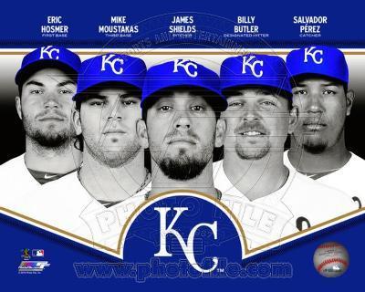 Kansas City Royals 2013 Team Composite