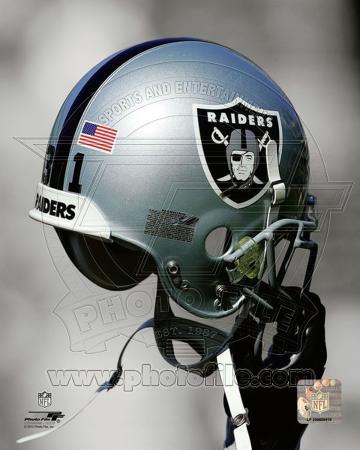 Oakland Raiders Helmet Spotlight