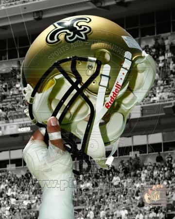 New Orleans Saints Helmet Spotlight