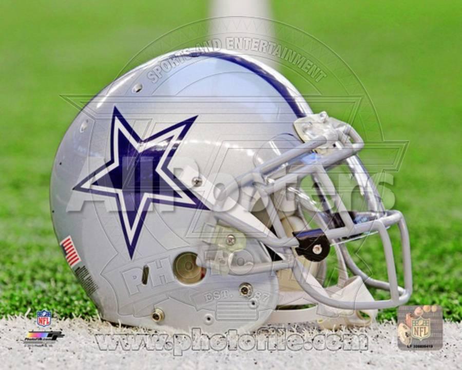 5a0e9a43c Dallas Cowboys Helmet Photo at AllPosters.com