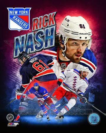 Rick Nash 2013 Portrait Plus
