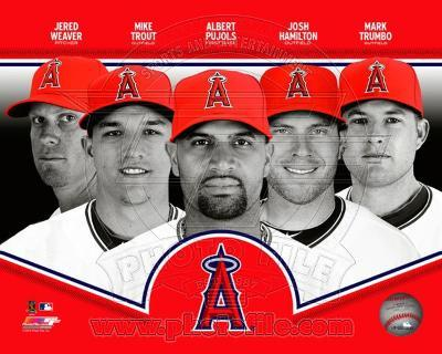Los Angeles Angels 2013 Team Composite