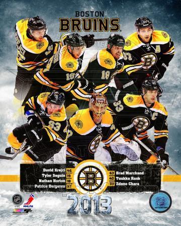 Boston Bruins 2012-13 Team Composite