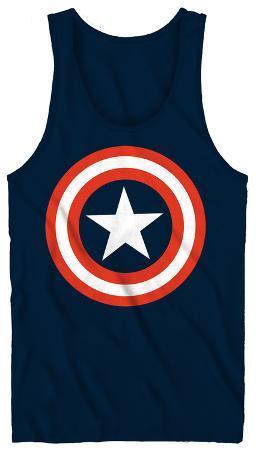 Tank Top: Captain America - 80's Captain