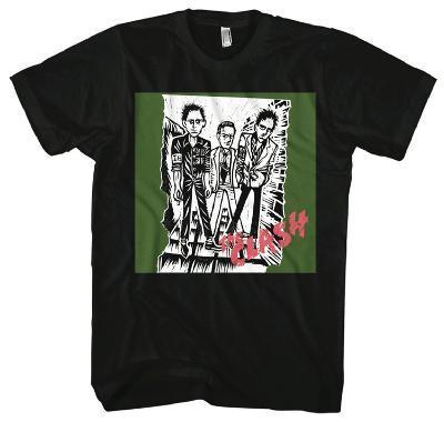 The Clash - 1st Album Clash Logo