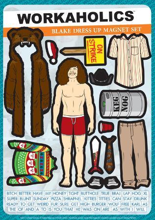 Workaholics - Blake Magnet Set