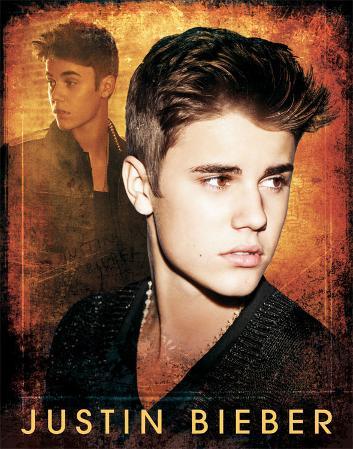 Justin Bieber Tin Sign