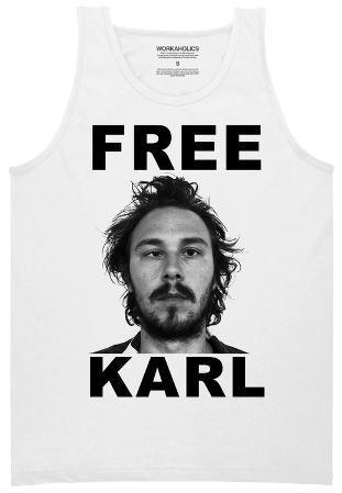 Tank Top: Workaholics - Free Karl