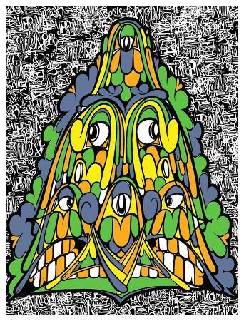 Eric Inkala Art Print