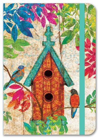 Garden Birdhouse Petite Journal