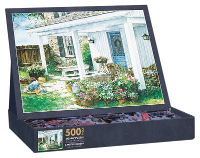A Potted Garden 500 Piece Jigsaw Puzzle