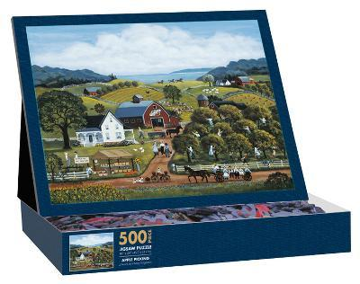 Apple Picking 500 Piece Jigsaw Puzzle