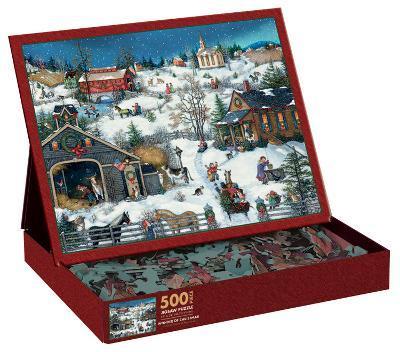 Christmas Memories 500 Piece Jigsaw Puzzle
