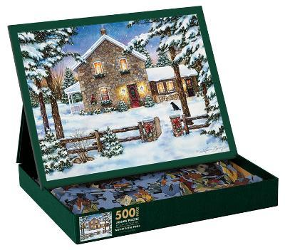 Nestled In The  Pines 500 Piece Jigsaw Puzzle