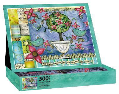 Happiness Blooms 500 Piece Jigsaw Puzzle