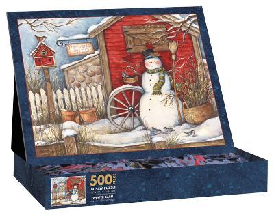 Winter Barn 500 Piece Jigsaw Puzzle