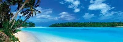 Panoramic Lagoon - Caribbean Sea