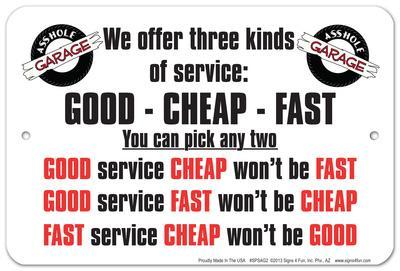 We Offer Service