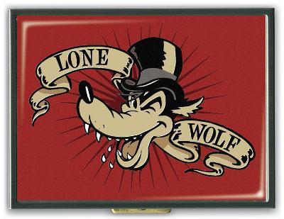 Lone Wolf Cigarette Case