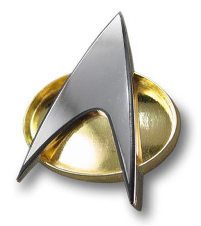 Star Trek - The Next Generation Communicator Bagde Replica