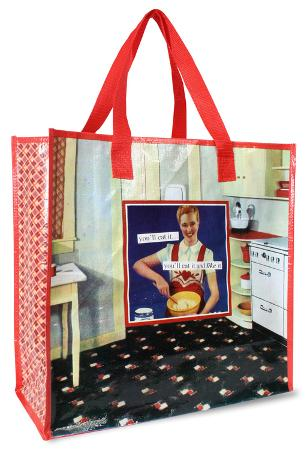 Anne Taintor - Eat It Shopper Bag