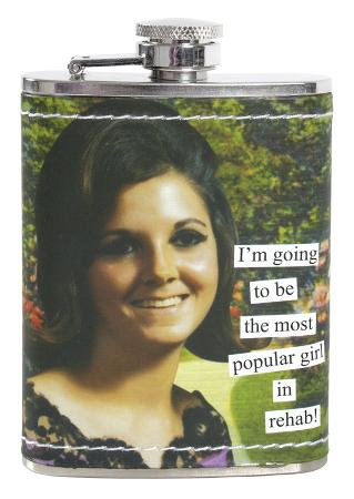Anne Taintor - Rehab Stainless Steel Flask