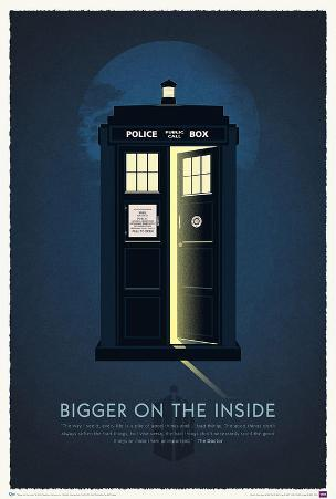 Doctor Who 50th Anniversary Art Print Poster