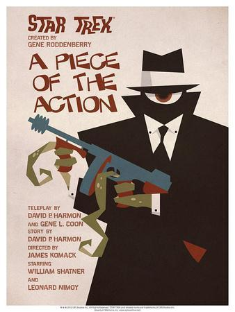 Star Trek Episode 46: A Piece of the Action TV Poster