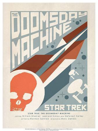 Star Trek Episode 35: The Doomsday Machine TV Poster