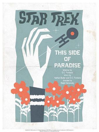Star Trek Episode 24: This Side of Paradise TV Poster
