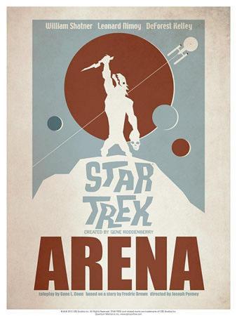 Star Trek Episode 18: Arena TV Poster