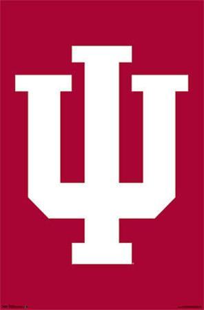 Indiana University Hoosiers NCAA Sports Poster