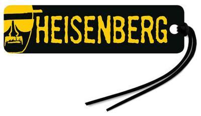 Breaking Bad Heisenberg Walter White Beaded Bookmark