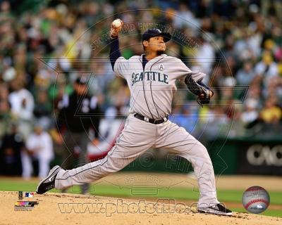 MLB Felix Hernandez 2013 Action