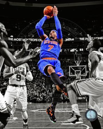 Carmelo Anthony 2012-13 Spotlight Action