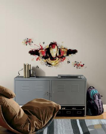 Iron Man 3 Graphic Peel & Stick Giant Wall Decals