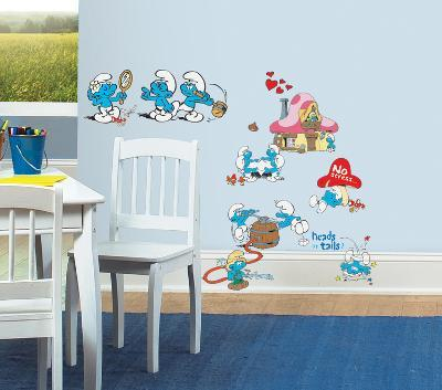 Smurfs Classic Peel & Stick Wall Decals