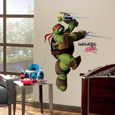 Teenage Mutant Ninja Turtles Raphael Peel & Stick Giant Wall Decals