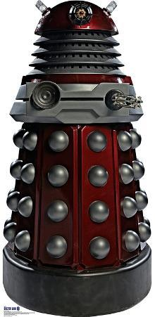Red Dalek - Doctor Who Lifesize Standup