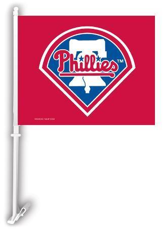 MLB Philadelphia Phillies Car Flag