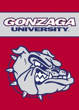 NCAA Gonzaga Bulldogs 2-Sided Garden Flag
