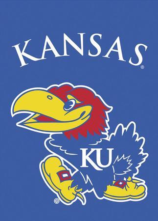 NCAA Kansas Jayhawks 2-Sided Garden Flag
